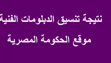 Photo of تنسيق الدبلومات الفنية للجامعات 2021 درجات القبول في الكليات والمعاهد الفنية